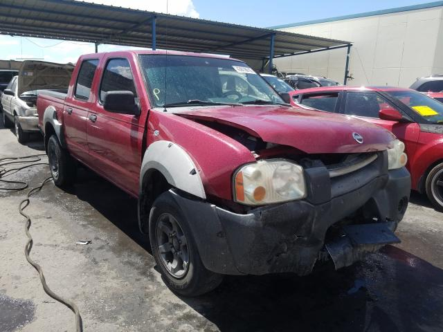 Salvage cars for sale from Copart Anthony, TX: 2002 Nissan Frontier C