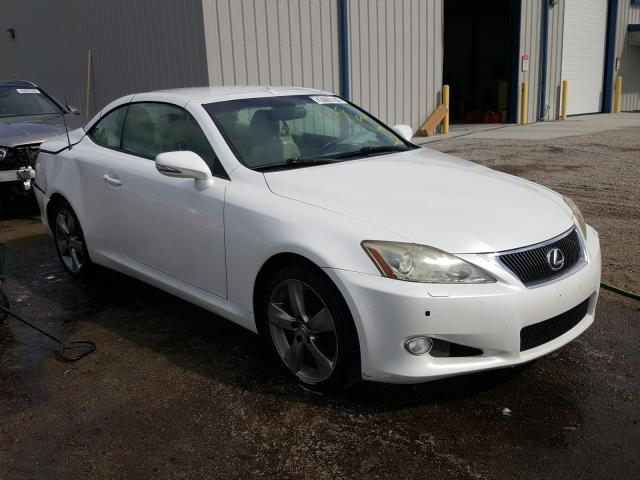 Salvage cars for sale from Copart Harleyville, SC: 2010 Lexus IS 250