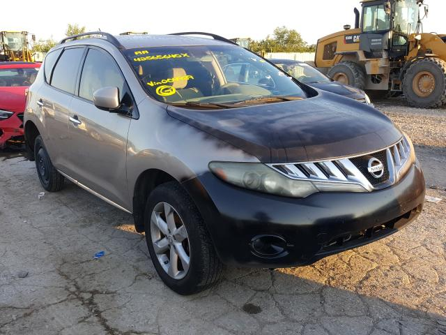 Salvage cars for sale from Copart Kansas City, KS: 2009 Nissan Murano S