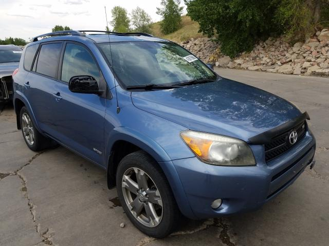 Toyota Rav4 Sport salvage cars for sale: 2008 Toyota Rav4 Sport