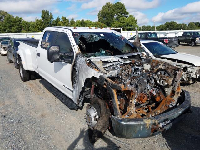 Salvage cars for sale from Copart Shreveport, LA: 2017 Ford F350 Super
