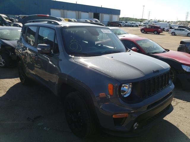 Salvage cars for sale from Copart Woodhaven, MI: 2020 Jeep Renegade L