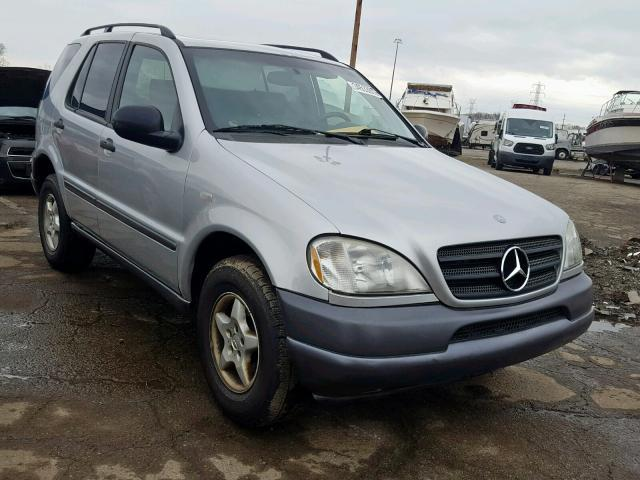 Mercedes-Benz ML 320 salvage cars for sale: 1998 Mercedes-Benz ML 320