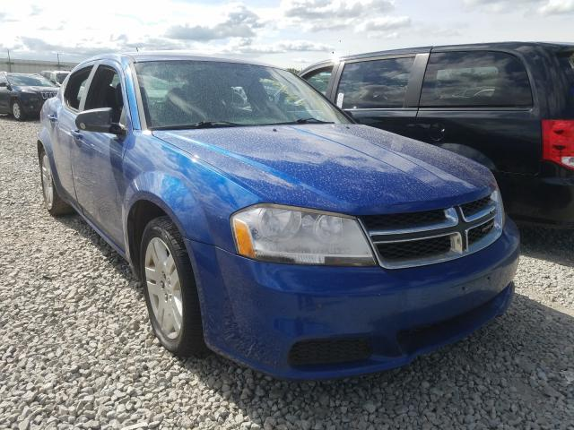 Salvage cars for sale from Copart Appleton, WI: 2014 Dodge Avenger SE