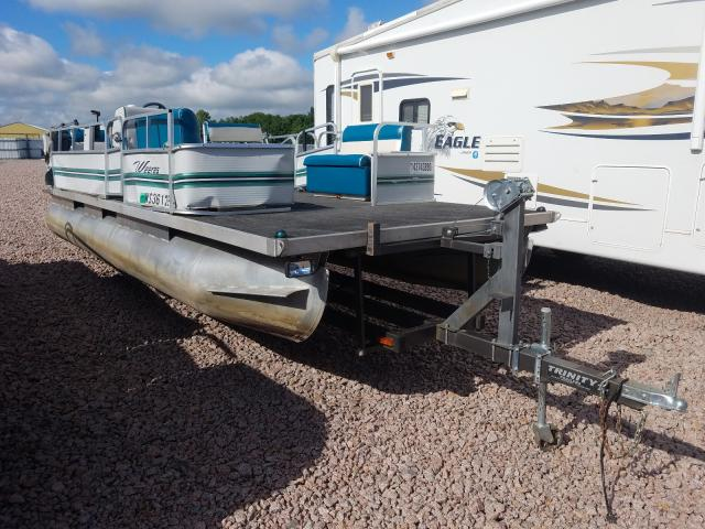 Salvage 1998 Weeres MARINE TRAILER for sale