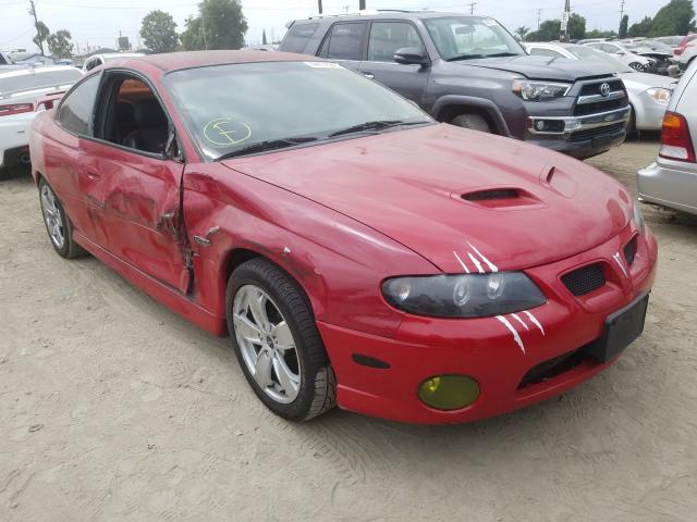 Pontiac GTO salvage cars for sale: 2004 Pontiac GTO