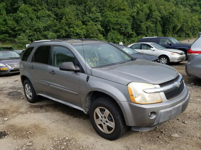 Chevrolet Equinox LS salvage cars for sale: 2005 Chevrolet Equinox LS