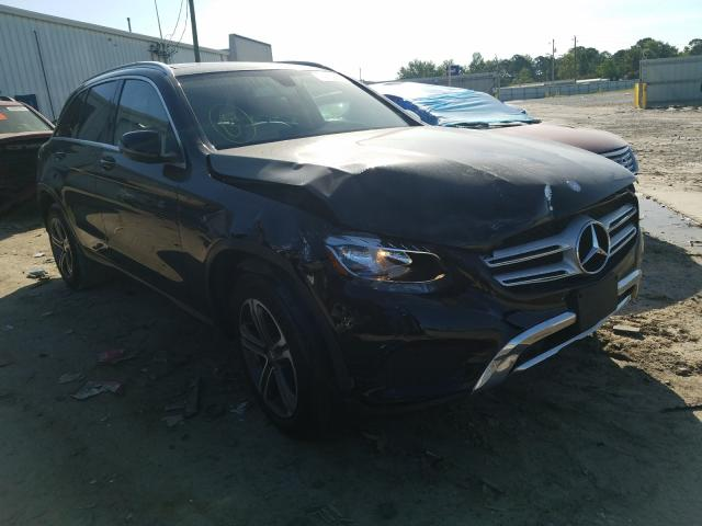Mercedes-Benz GLC 300 salvage cars for sale: 2016 Mercedes-Benz GLC 300