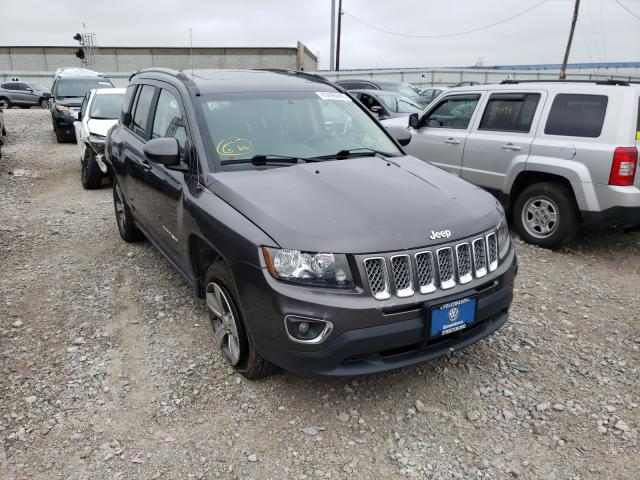 Jeep Compass LA salvage cars for sale: 2017 Jeep Compass LA