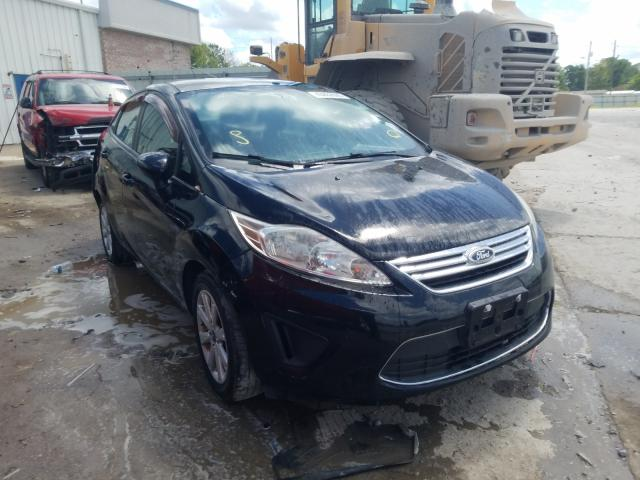 Ford Fiesta SE salvage cars for sale: 2012 Ford Fiesta SE