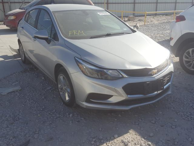 Salvage cars for sale from Copart Haslet, TX: 2018 Chevrolet Cruze LT