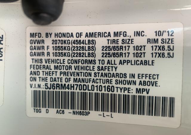 2013 Honda Cr-V Exl 2.4L