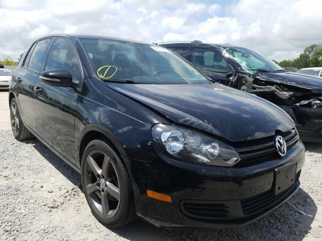 Volkswagen Golf salvage cars for sale: 2010 Volkswagen Golf