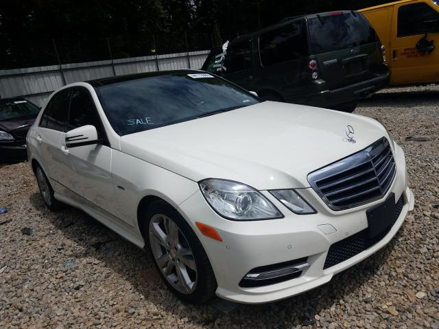 Mercedes-Benz E 350 4matic salvage cars for sale: 2012 Mercedes-Benz E 350 4matic