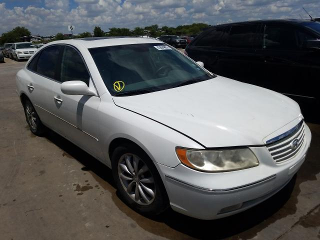 Hyundai salvage cars for sale: 2007 Hyundai Azera SE