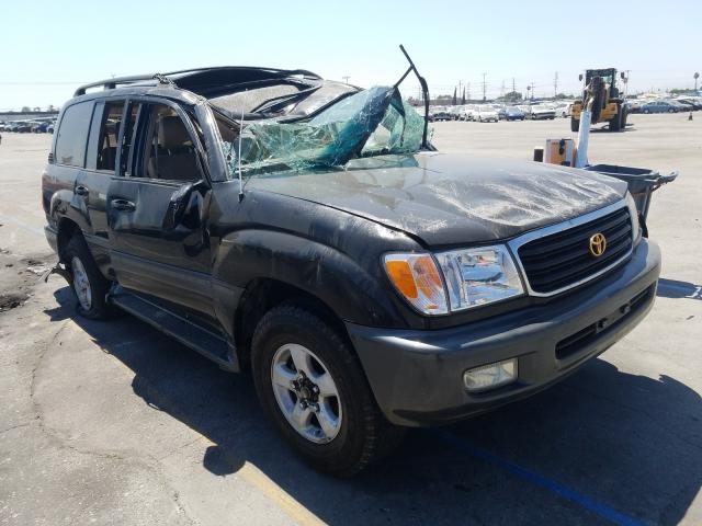 Toyota Land Cruiser salvage cars for sale: 2000 Toyota Land Cruiser