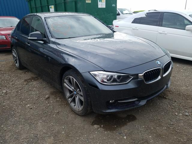 Salvage cars for sale from Copart Rocky View County, AB: 2014 BMW 320 I Xdrive