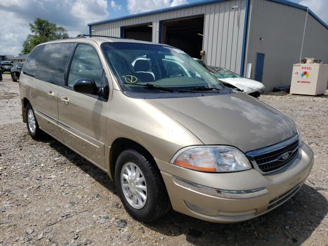 Salvage cars for sale from Copart Sikeston, MO: 1999 Ford Windstar S