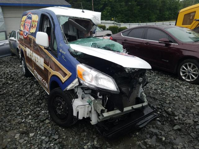 Salvage cars for sale at Mebane, NC auction: 2018 Nissan NV200 2.5S