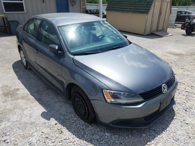 Salvage cars for sale from Copart Prairie Grove, AR: 2014 Volkswagen Jetta Base