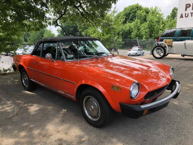 Fiat salvage cars for sale: 1977 Fiat 124 Spyder