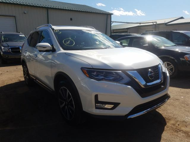Salvage cars for sale from Copart Ham Lake, MN: 2018 Nissan Rogue