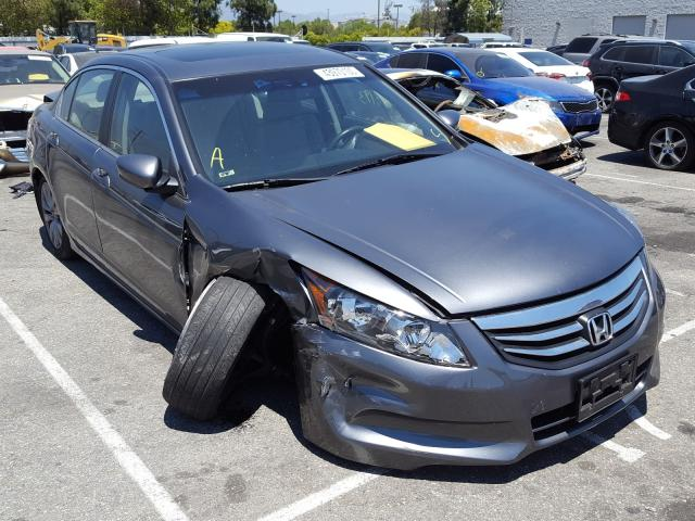Honda Accord EXL salvage cars for sale: 2012 Honda Accord EXL