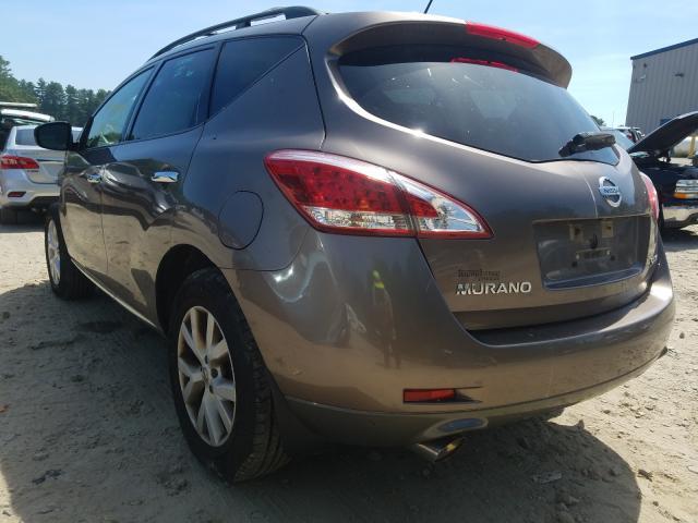 купить 2012 NISSAN MURANO S JN8AZ1MW2CW225489