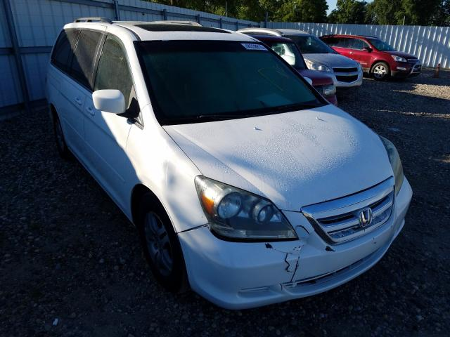 Salvage cars for sale from Copart Lansing, MI: 2005 Honda Odyssey EX