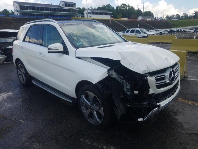 Mercedes-Benz GLE 350 4M salvage cars for sale: 2017 Mercedes-Benz GLE 350 4M