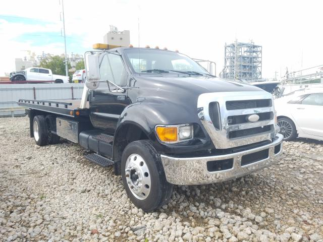 Ford F750 Super salvage cars for sale: 2007 Ford F750 Super