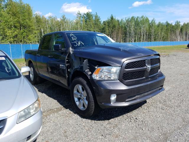 Salvage cars for sale from Copart Lyman, ME: 2018 Dodge RAM 1500 ST