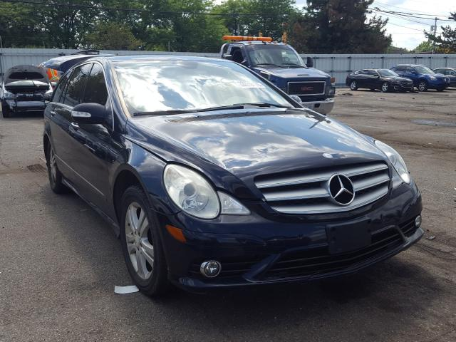 Mercedes-Benz R 350 salvage cars for sale: 2008 Mercedes-Benz R 350