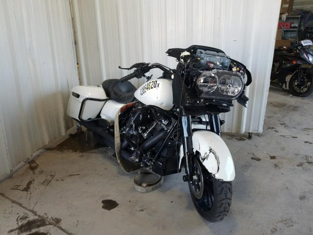 Salvage cars for sale from Copart Des Moines, IA: 2018 Harley-Davidson Fltrxs ROA