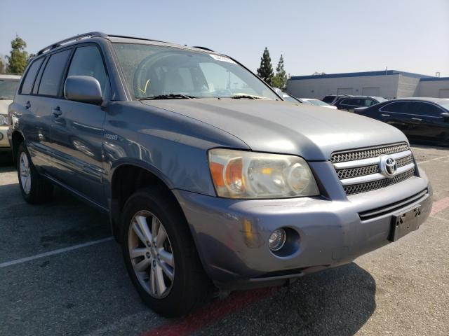 Salvage cars for sale from Copart Rancho Cucamonga, CA: 2006 Toyota Highlander