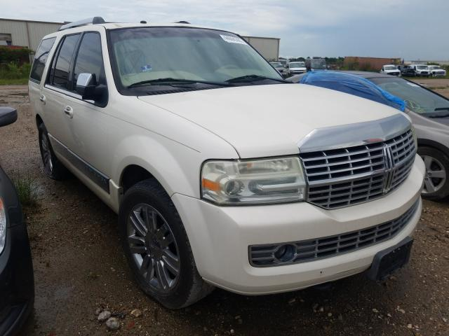 Salvage cars for sale at Houston, TX auction: 2007 Lincoln Navigator
