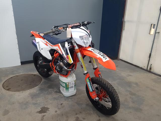 KTM salvage cars for sale: 2016 KTM 450 SX
