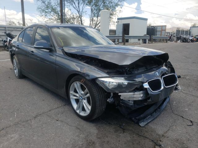 Salvage cars for sale from Copart Anthony, TX: 2016 BMW 320 I