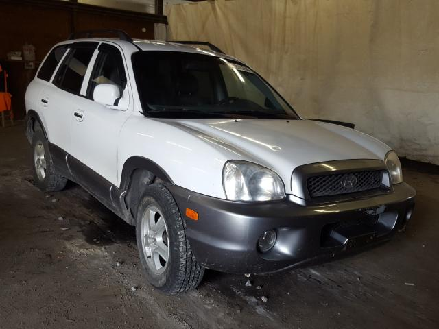 Salvage cars for sale from Copart Ebensburg, PA: 2001 Hyundai Santa FE G