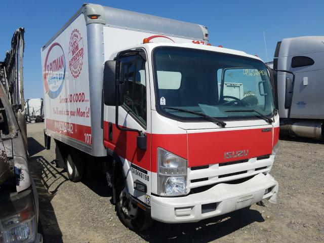 Salvage cars for sale from Copart Sacramento, CA: 2015 Isuzu NPR