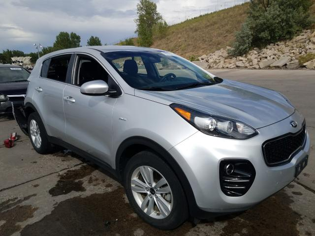 Vehiculos salvage en venta de Copart Littleton, CO: 2017 KIA Sportage L