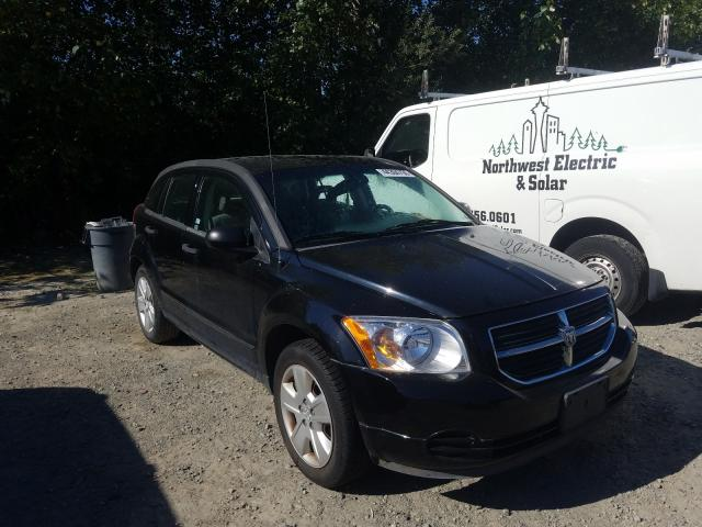 Salvage cars for sale from Copart Arlington, WA: 2007 Dodge Caliber SX