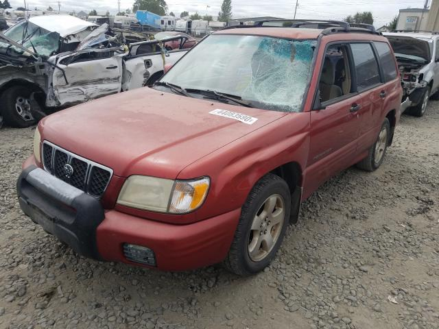 salvage certificate 2001 subaru forester 4dr spor 2 5l for sale in eugene or 44083590 a better bid car auctions