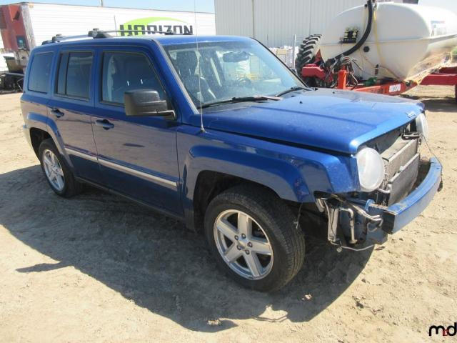 Jeep salvage cars for sale: 2010 Jeep Patriot LI