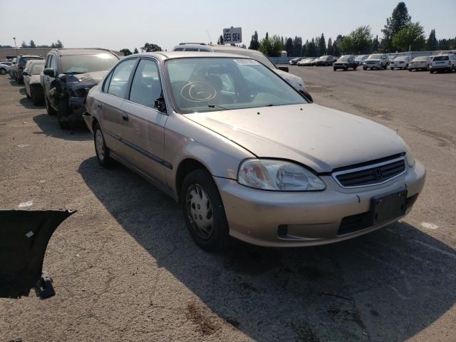 Honda Civic LX salvage cars for sale: 2000 Honda Civic LX