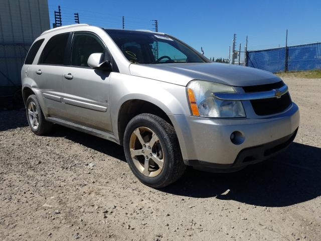 Salvage cars for sale from Copart Rocky View County, AB: 2007 Chevrolet Equinox LT