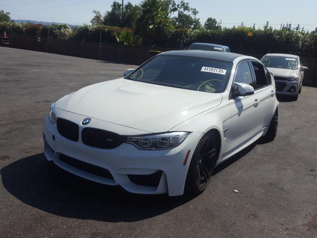 из сша 2015 BMW M3  WBS3C9C57FJ276428