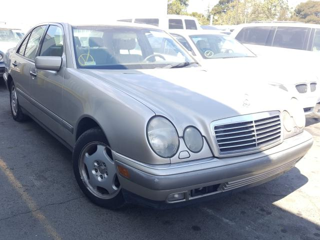 Mercedes-Benz E 420 salvage cars for sale: 1997 Mercedes-Benz E 420