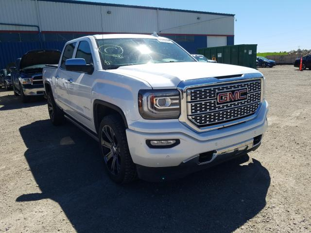 Salvage cars for sale from Copart Rocky View County, AB: 2017 GMC Sierra K15