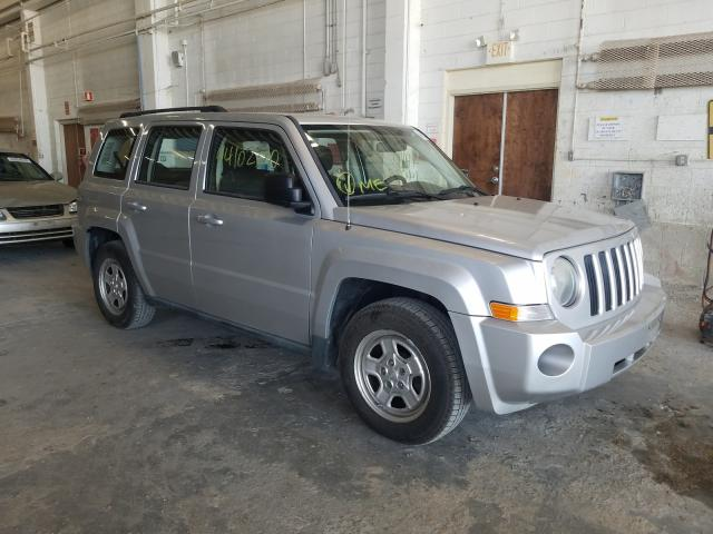 Jeep Patriot SP salvage cars for sale: 2010 Jeep Patriot SP